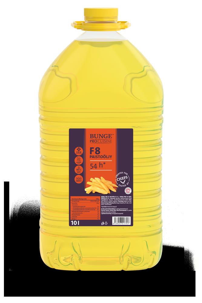 Bunge Pro F8 paistoöljy 10 l